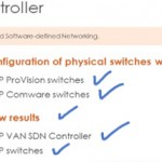 OpenFlow switch configuration – HP Procurve and Comware with the HP VAN SDN controller