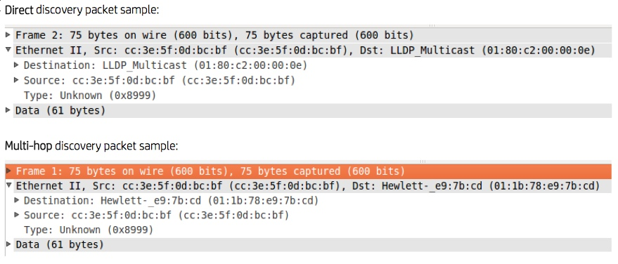 BDDP Wireshark capture