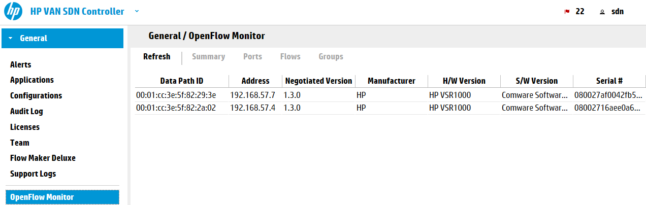 VSRs-registered-with-the-HP-VAN-SDN-Controller